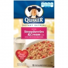 Just Like Quaker Strawberries & Cream Oatmeal