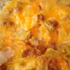 Creamy Cheesy Steamy Cabbage Casserole