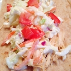 Baja Chicken Tacos ~ Crockpot Recipe
