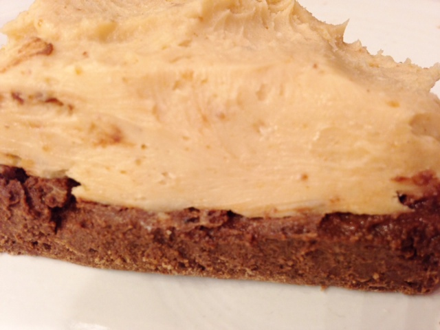 Peanut butter fudge or frosting jen saves for Chocolate fudge cream cheese frosting